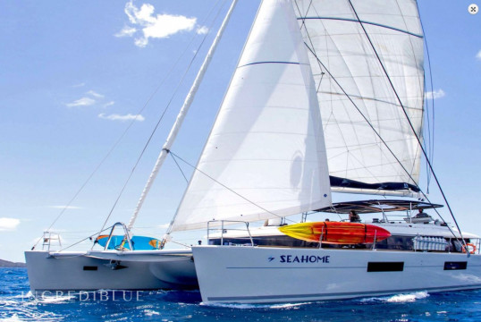 Catamaran rent Lagoon 18.90m in Nanny Cay Marina, British Virgin Islands