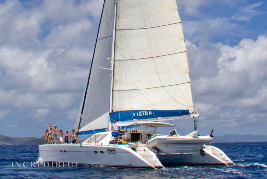 Catamaran rent Lagoon 57 in Tortola, British Virgin Islands