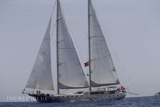 Sailing boat rent Custom Kulach in Milta Marina, Bodrum
