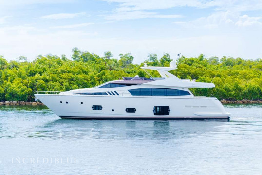 Yacht rent Ferretti 24.68m in Yacht Haven Marina, Nassau