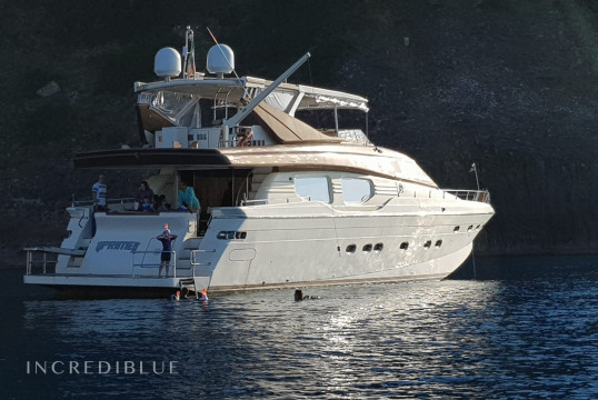 Ενοικίαση mega yacht Custom Rizzardi Posillipo Technema 80 μέσα Porto di Ponza, Lazio