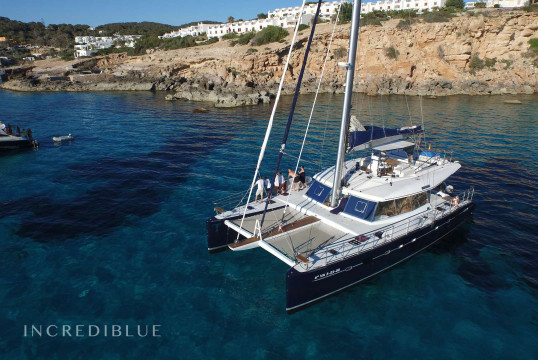 Yacht rent Sunreef 18.90m in Santa Eulàlia, Ibiza