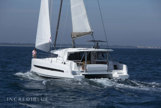 Catamaran rent Catana Bali 4.5 Open Space in Port Ginesta, Barcelona