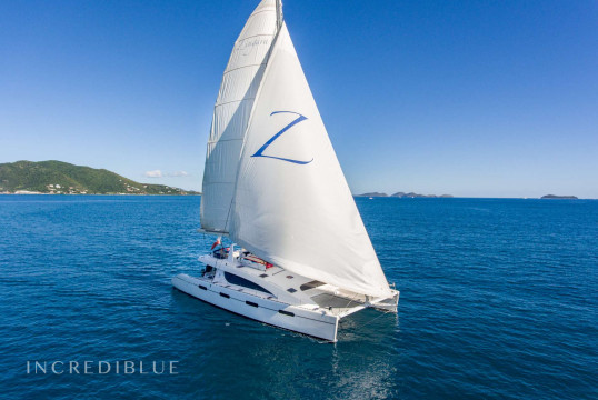 Catamaran rent Matrix Yachts Silhouette 76 in Nanny Cay Marina, British Virgin Islands