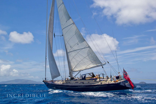 Sailing boat rent Custom Yacht Officine Pesaro 72 Sloop in Yacht Haven Grande, British Virgin Islands