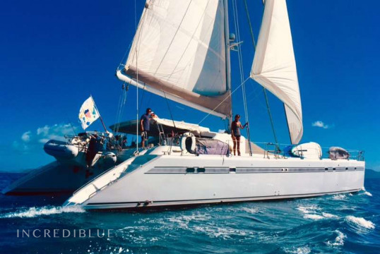 Catamaran rent privilege 19.81m in St. Thomas, United States Virgin Islands