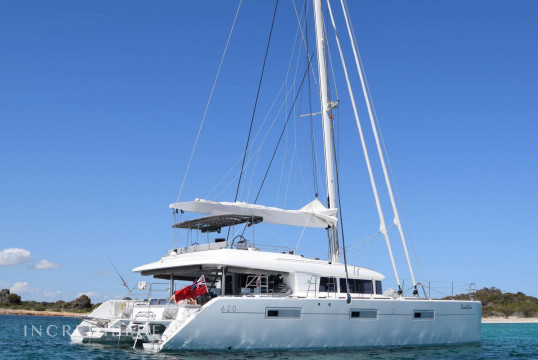 Catamaran rent Lagoon 620 in Yacht Haven Grande, British Virgin Islands