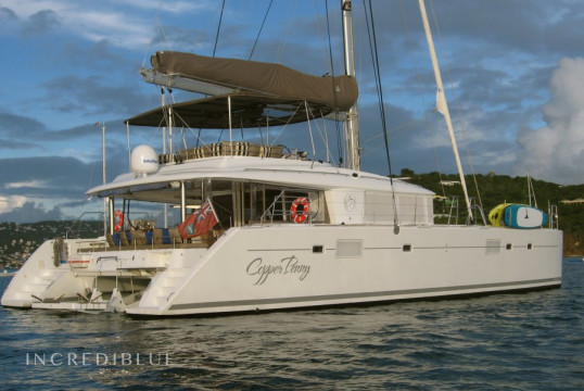 Catamaran rent Lagoon 56 in Tortola, British Virgin Islands