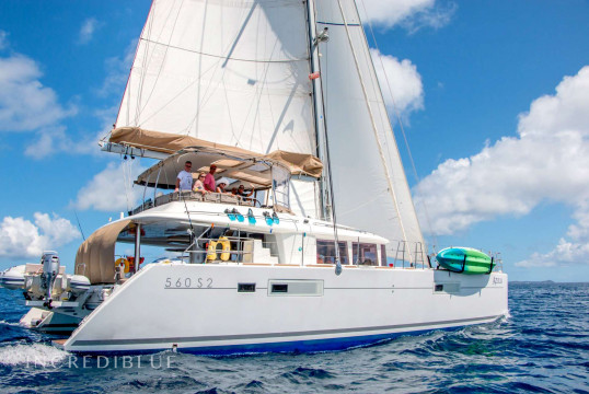 Catamaran rent Lagoon 560 in St. Thomas, United States Virgin Islands