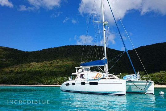 Catamaran rent Robertson & Caine 46 in Tortola, British Virgin Islands