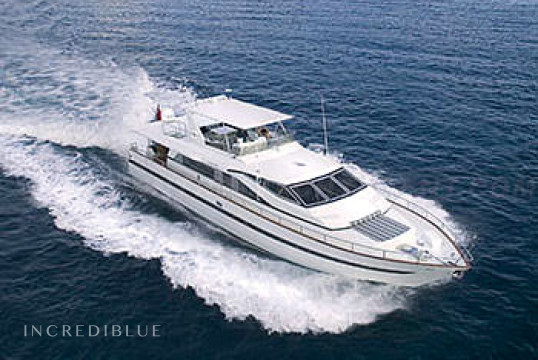 Yacht rent Azimut 25m in Yacht Haven Grande, United States Virgin Islands