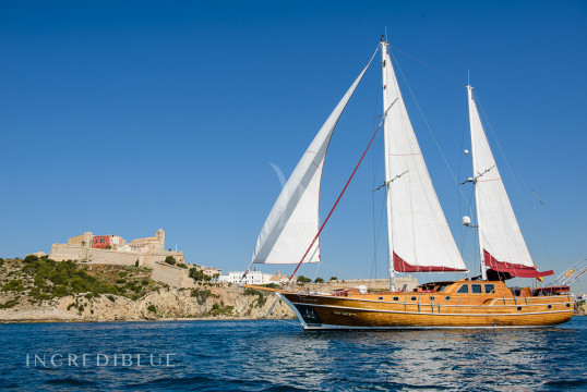 Gulet rent Ketch 24m in Santa Eulàlia, Ibiza