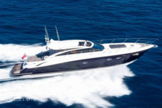 Yacht rent Princess V 62 in Cala Nova, Mallorca