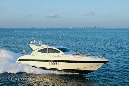 Yacht rent Mangusta 22m in Miami Beach, South Florida