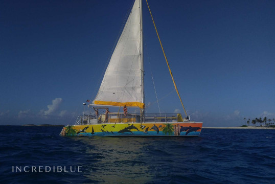Catamaran rent Custom Built Jade Yacht in Downtown Miami, South Florida