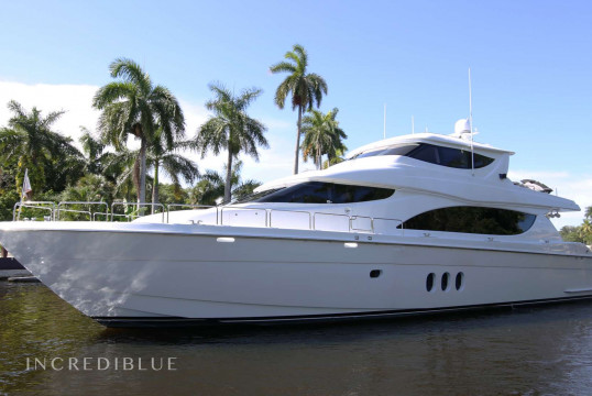 Yacht rent Hatterras 24.38m in Miami Beach, South Florida