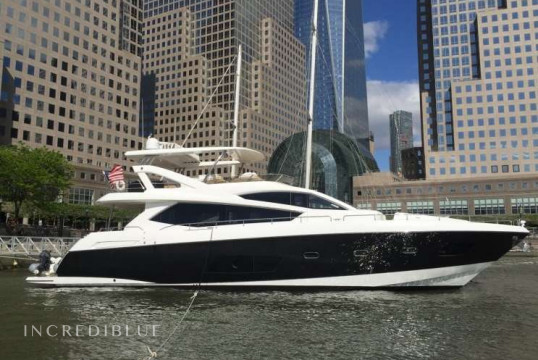 Прокат моторных яхт Sunseeker 22.86m, Newport, Род-Айленд