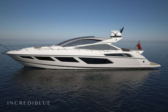 Прокат моторных яхт Sunseeker 20.72m, Newport, Род-Айленд