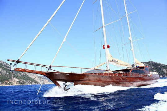 Gulet rent Custom Gulet in Milta Marina, Bodrum