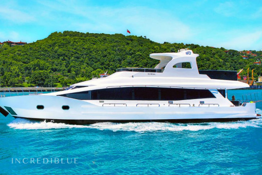Yacht rent Custom Royal  in Arnavutkoy, Istanbul