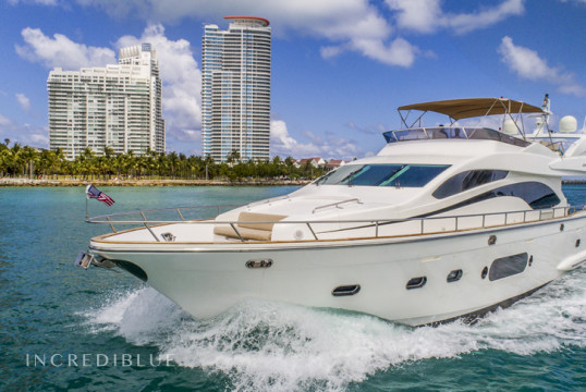 Noleggiare yacht Custom Built 84 Yacht a Miami Beach, Florida del sud
