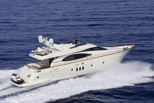 Yacht rent Azimut 75 in Zeas Port, Athens