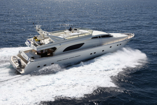 Yacht rent Ferretti 80 in Athens Marina, Athens