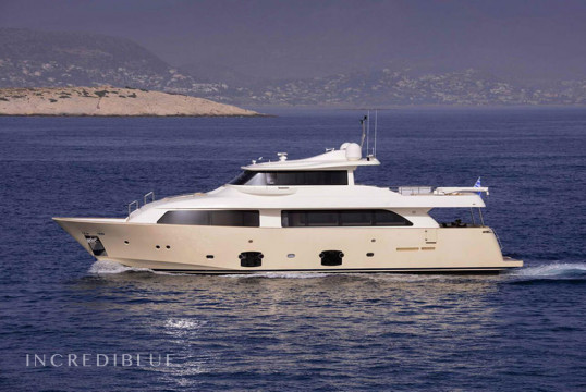 Yacht rent Ferretti Navetta 26 in Vouliagméni, Athens