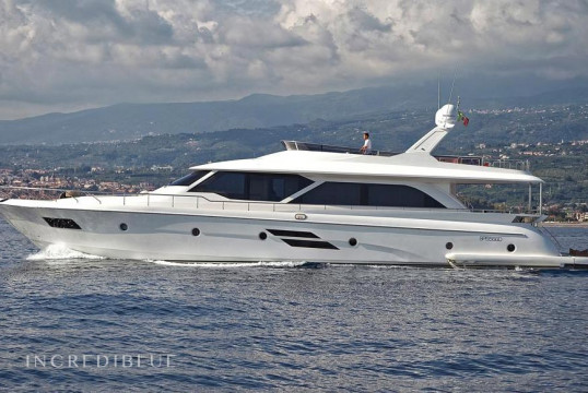 Yacht rent Raphael Yachts Marco Polo 78 in Porto dell'Etna, Riposto