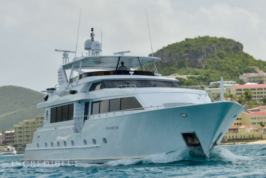 Yacht rent Broward 112 feet in Ile de Saint Martin, Saint Martin