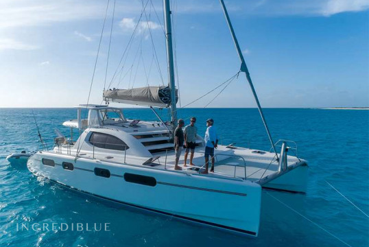 Huur catamaran Leopard 46 ft in Nassau, Bahamas