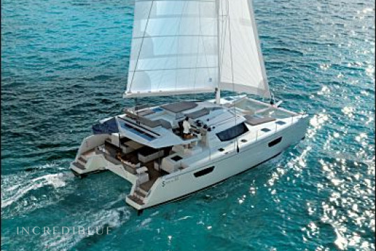 Catamaran rent Fountaine Pajot Saba 50 Crewed in Harbour View Marina Marsh Harbour, Bahamas