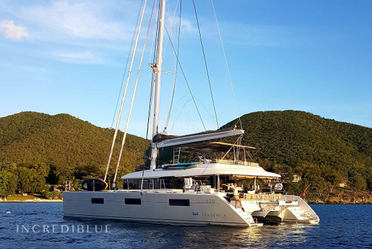 Catamaran rent Lagoon 62 in Marina de Canouan Island, Saint Vincent and the Grenadines