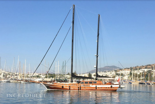 Gulet rent Custom made 2010 in Milta Marina, Bodrum