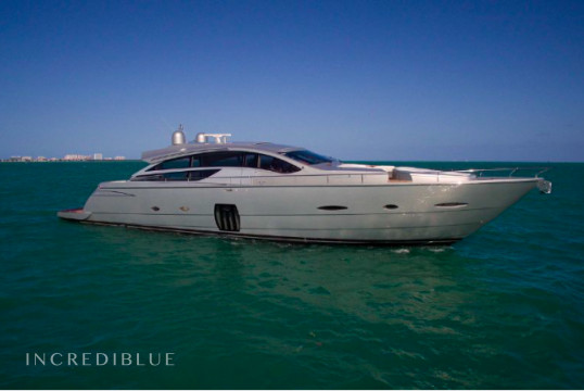Huur jacht Pershing 80' Pershing in Miami Beach, Zuid-Florida