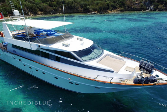Motorboat rent Custom Built 1995 in Palmarina Yalıkavak, Bodrum