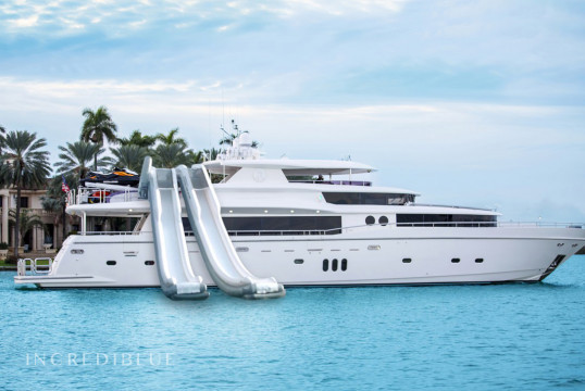 Прокат моторных яхт Johnson Flybridge, Downtown Miami, Южная Флорида