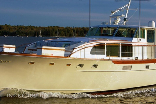 Yacht rent Custom Trumpy in Yacht Haven Marina, Nassau