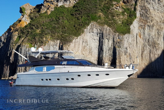 Ενοικίαση mega yacht Custom Rizzardi Posillipo Technema 80 μέσα Porto di Cannigione, Σαρδηνία