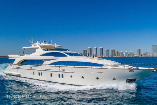 Yacht rent Azimut 116 in Miami Beach, South Florida