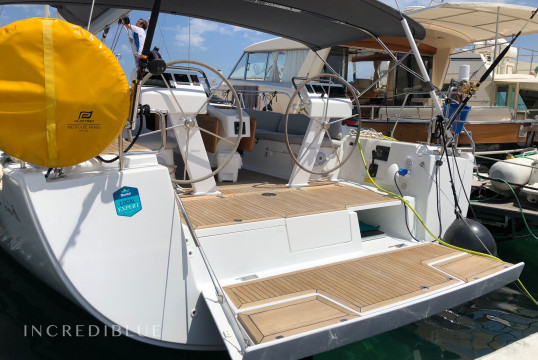 Sailing boat rent Hanse Yachts Hanse 505 in Águilas, Murcia