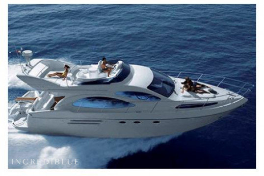 Yacht rent Azimut 46 in Port Olímpic, Barcelona