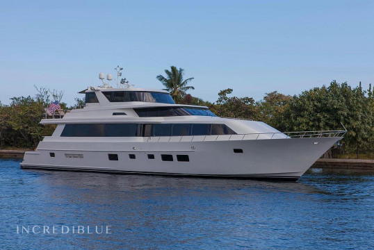 Yacht rent Custom 98ft in Miami Beach, South Florida