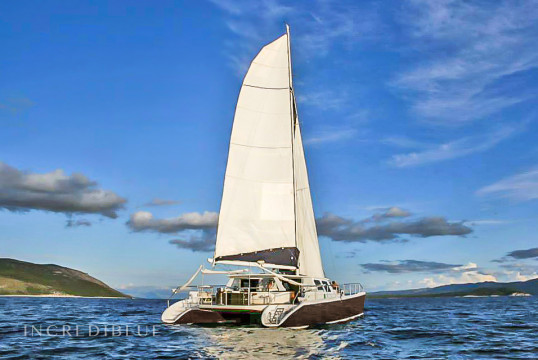 Catamaran rent Caribe 69 in Gouvia Marina, Corfu