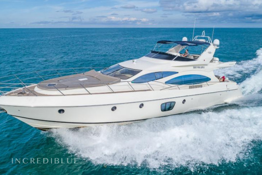 Yacht rent Azimut 68' Azimut in Miami Beach, South Florida