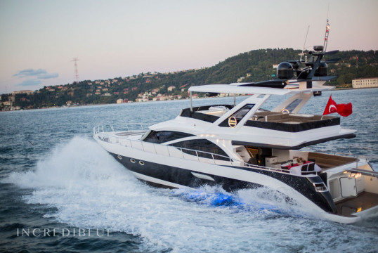 Motorboat rent Custom Built Motor Yacht in Arnavutkoy, Istanbul