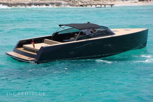 Motorboat rent VanDutch 40 in Port d'Eivissa, Ibiza
