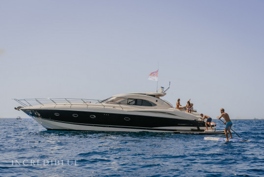 Прокат моторных яхт Sunseeker 58, Port Barcelona, Барселона