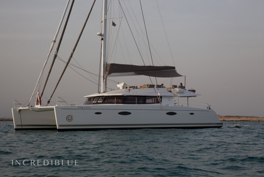 Catamaran rent Fountaine Pajot Victoria 67 in Port Ginesta, Barcelona