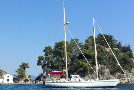 Sailing boat rent Custom MIKADO 56' in Kerkira Marina, Corfu